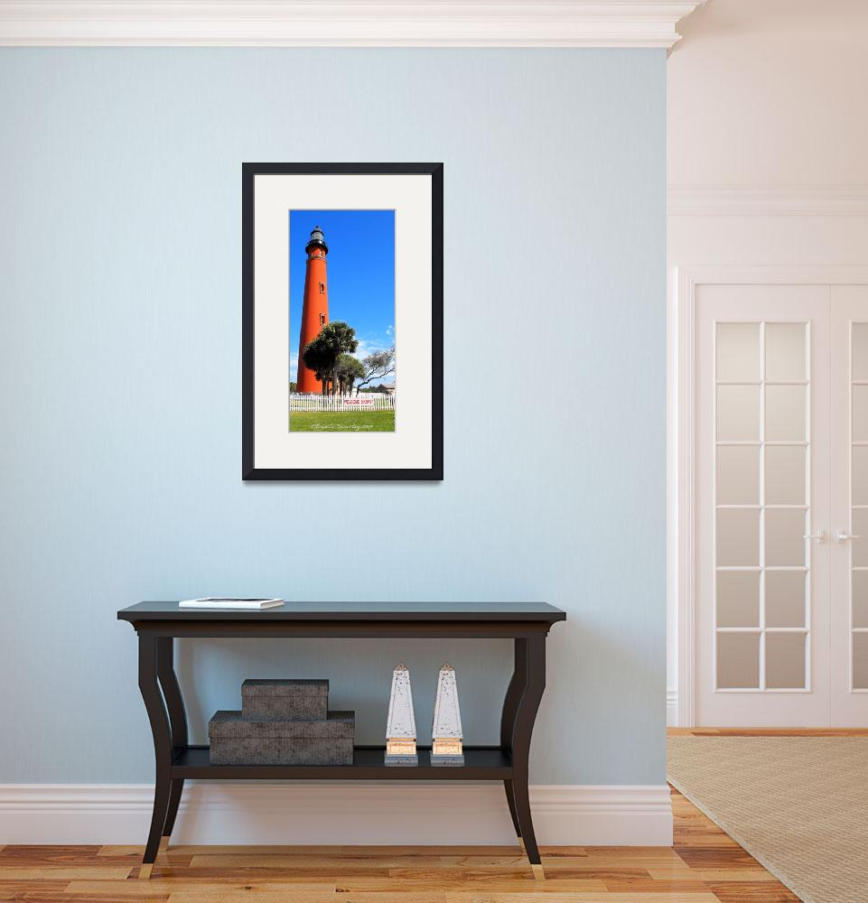 """""""Lighthouse in Daytona&quot  (2009) by ChrisCrowley"""