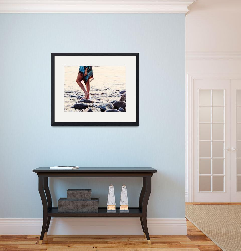 """Balm Beach Boho&quot  (2015) by pattifriday"