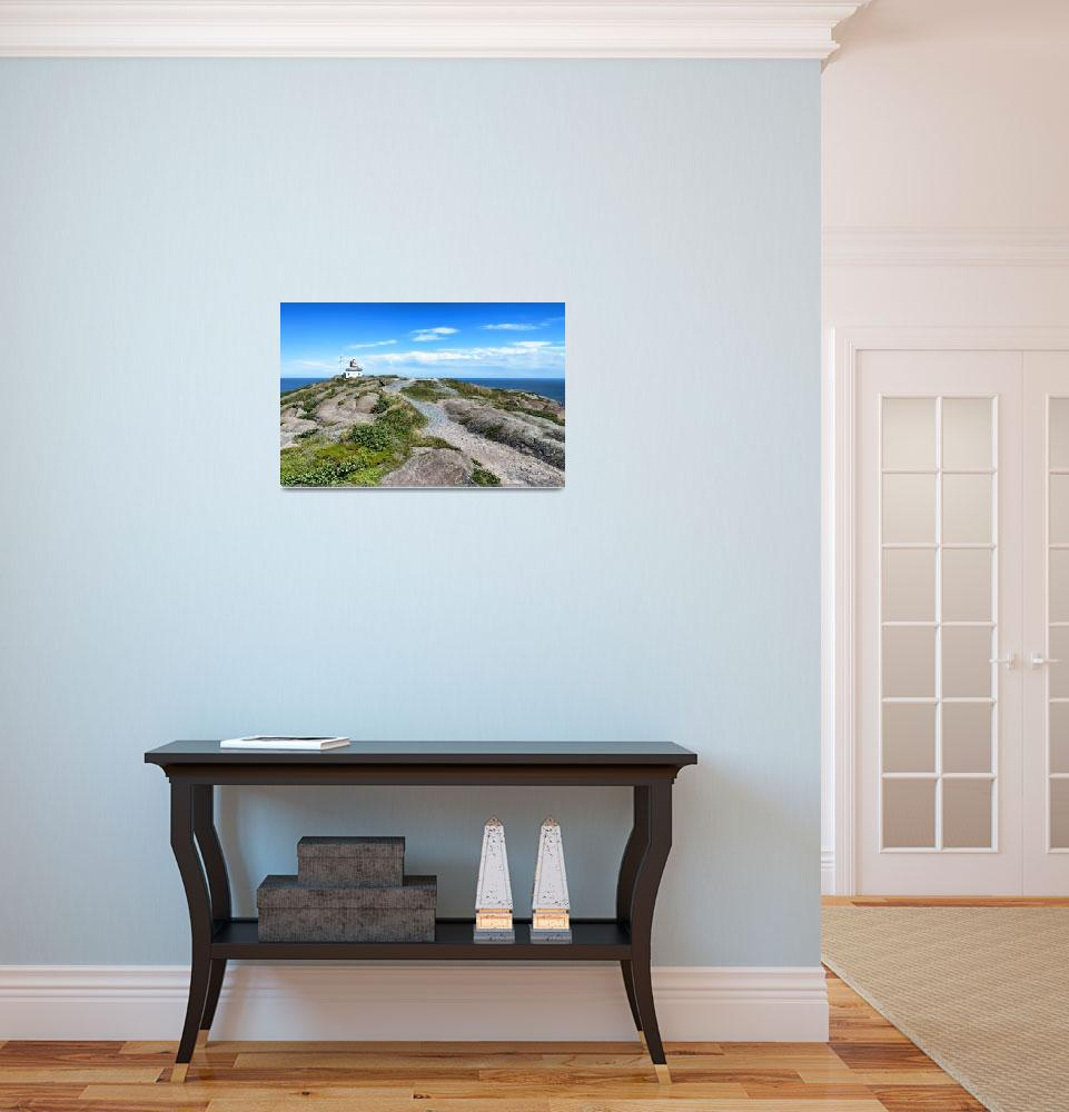 """Old Cape Spear Lighthouse""  (2011) by mtn-images"