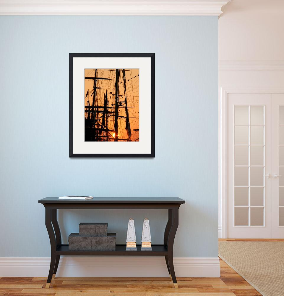 """""""Masts at Sunset""""  by MidenianScholar"""