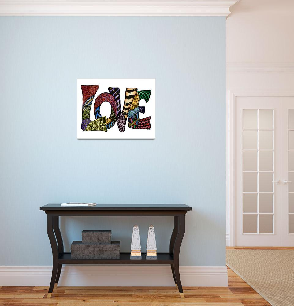"""""""Love&quot  (2015) by Nanwright"""