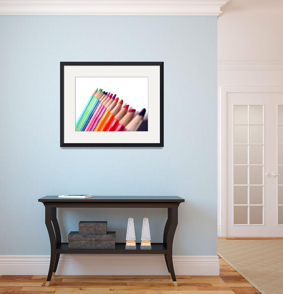 """""""Colored Pencils""""  (2009) by Alvimann"""