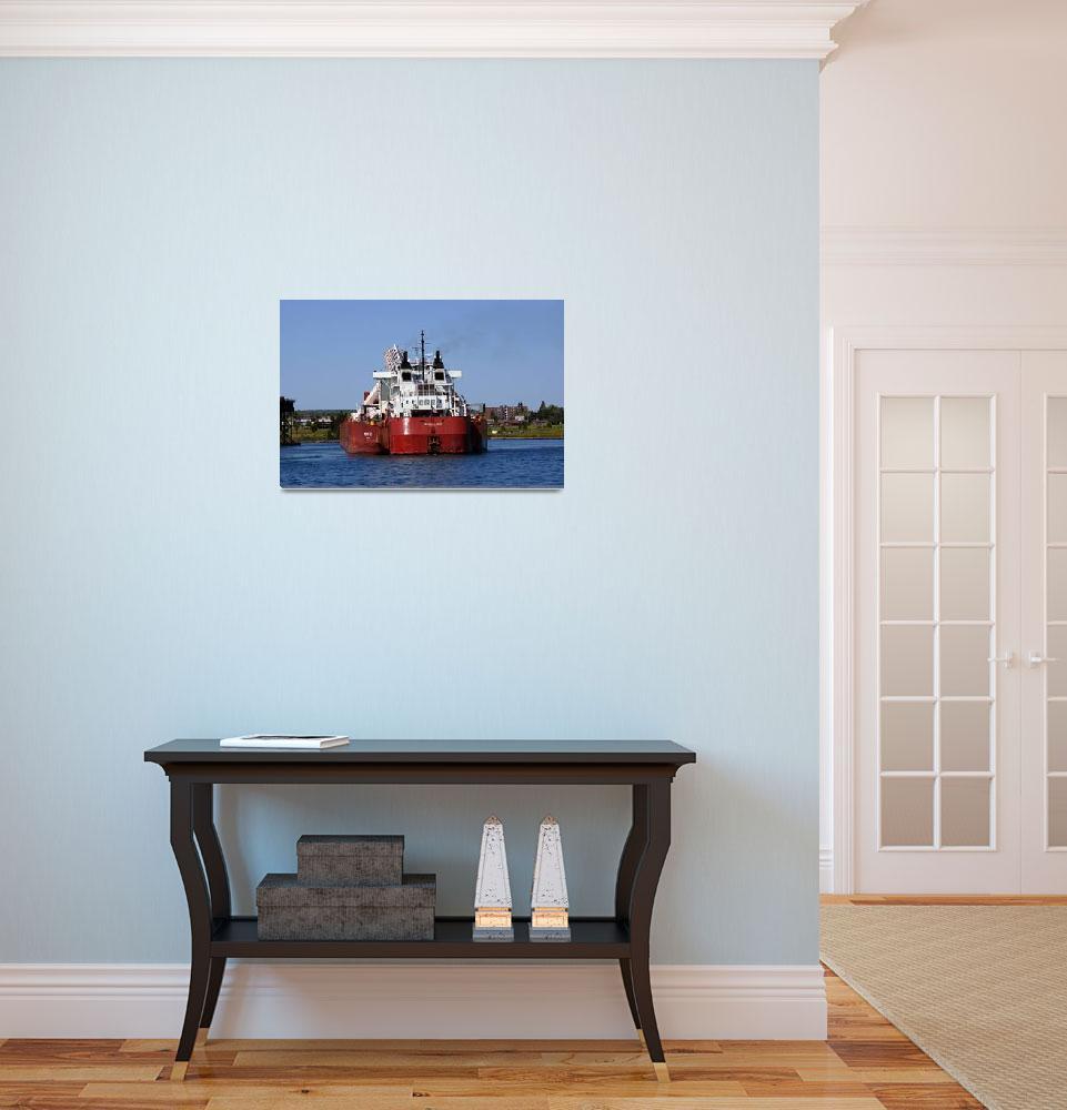 """Presque Isle ship""  by cameragal"