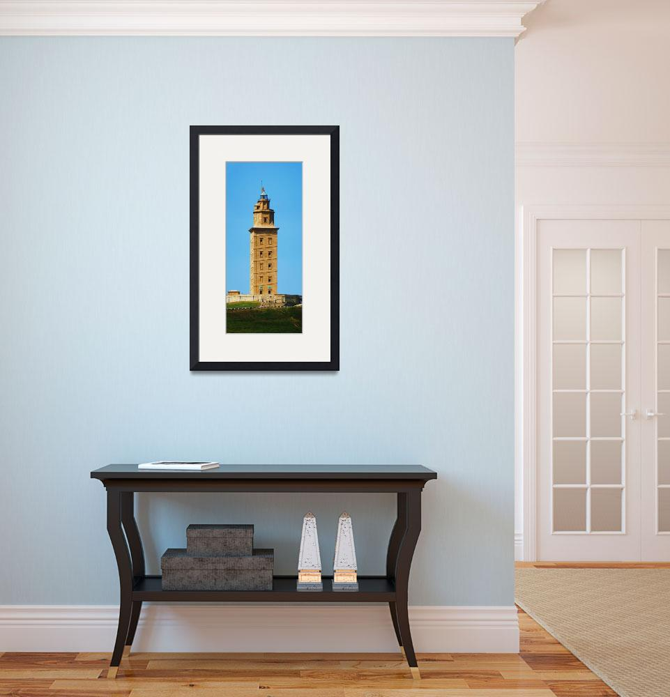 """torre de hercules - hercules tower""  (2011) by fotonico"