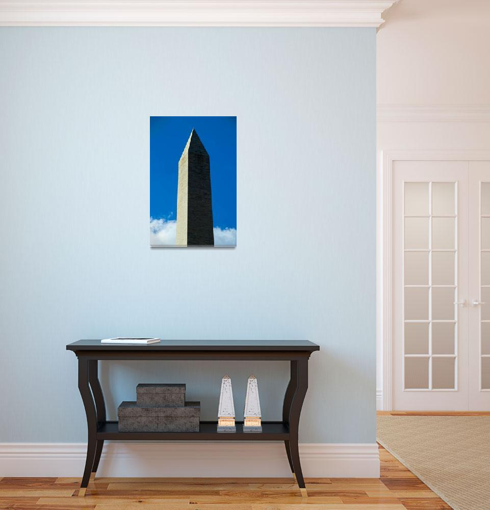 """washington monument 1""  (2007) by jgusky"
