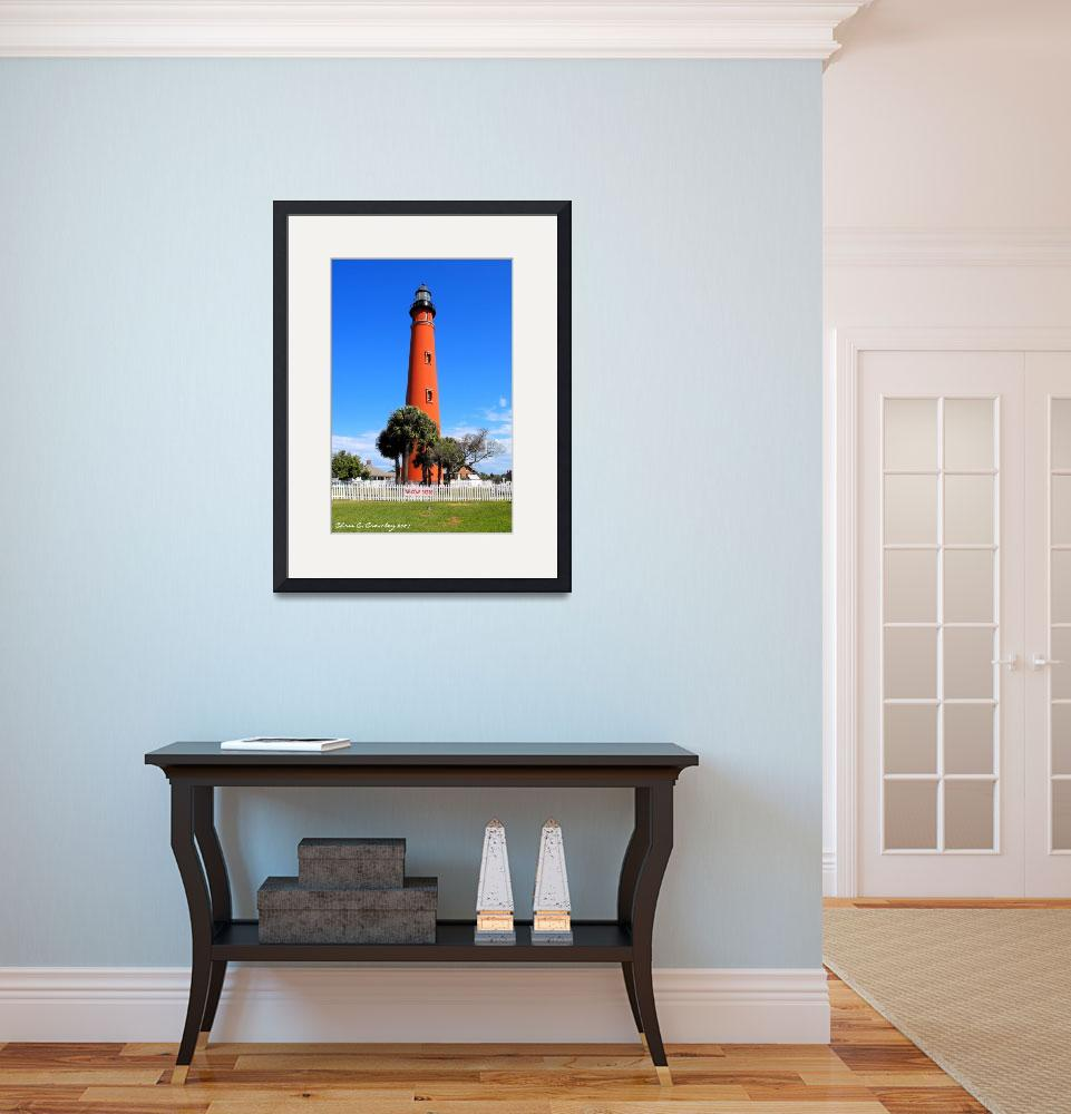 """""The Lighthouse At Ponce Inlet""&quot  (2009) by ChrisCrowley"