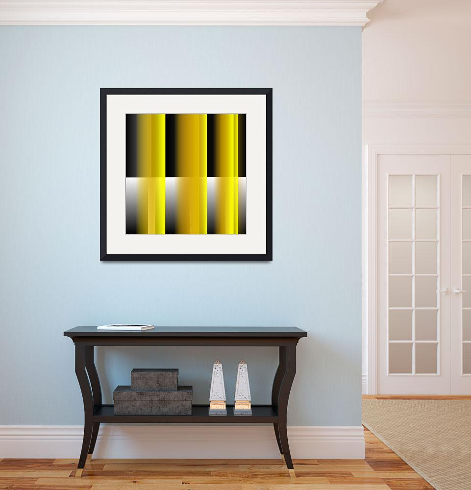 """""""Yellow Reflections&quot  (2014) by CJMoy"""