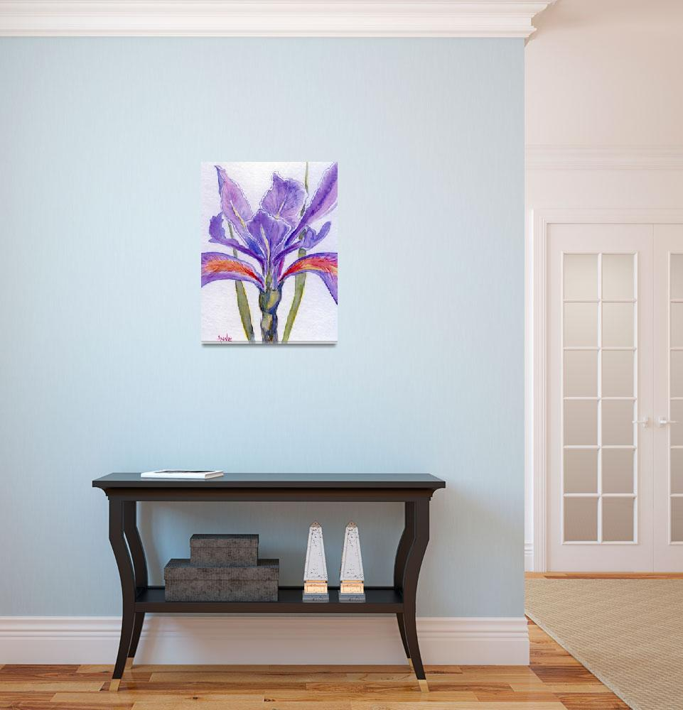 """""""Iris... Beauty in Purple""""  (2010) by ARTistic_Anne"""