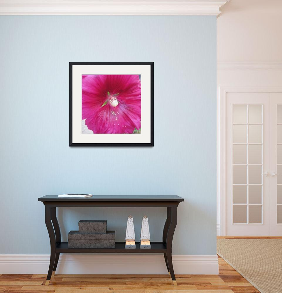 """""""Hibiscus Flower&quot  (2015) by hattem"""