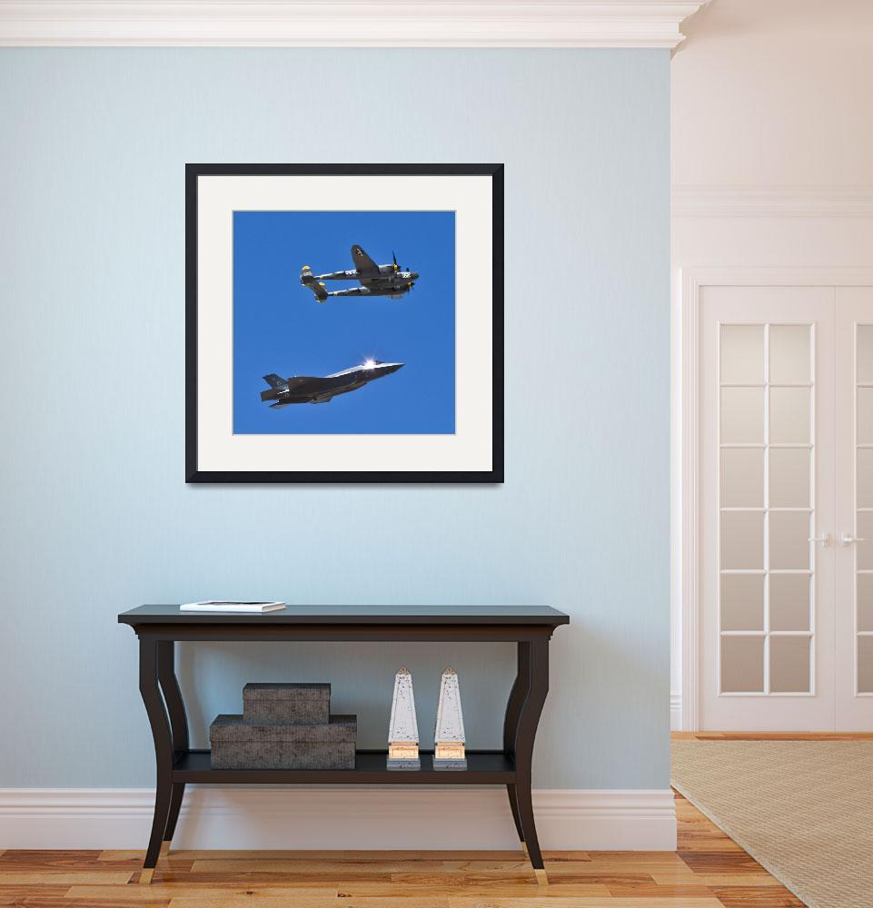 """""""Military Airplanes Flyover&quot  (2014) by Kirtdtisdale"""