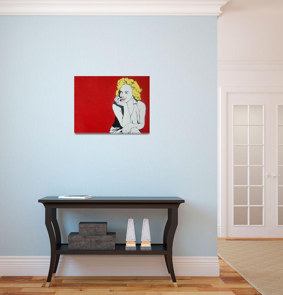 """""""Marilyn&quot  (2011) by LucasVines"""