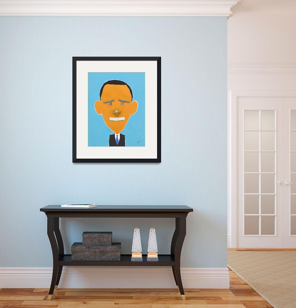 """Obama&quot  (2008) by pivenworld"