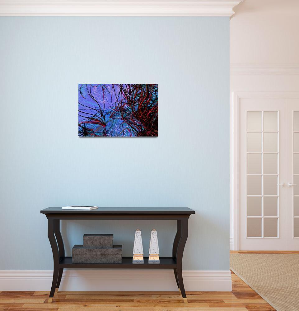 """""""Abstract Ocean Grasses""""  (2012) by KsWorldArt"""