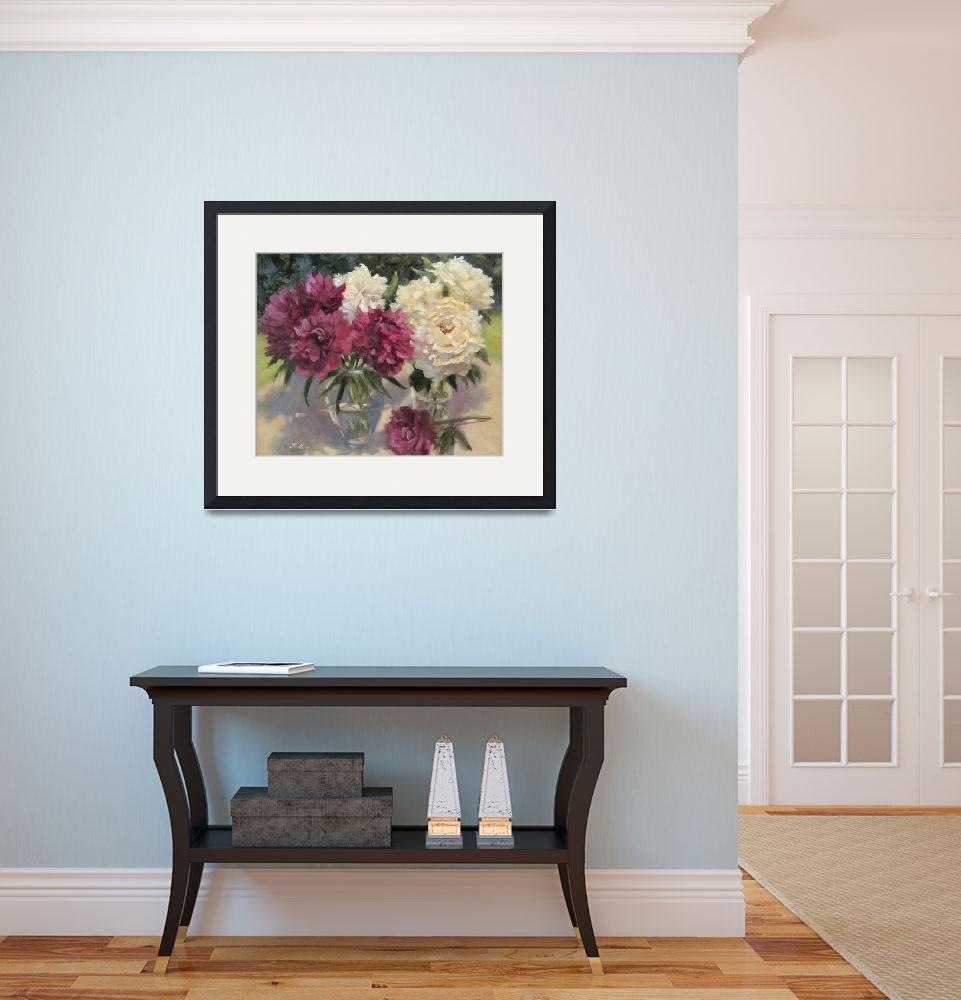 """""""Backyard Blooms I&quot  by Fiorello"""