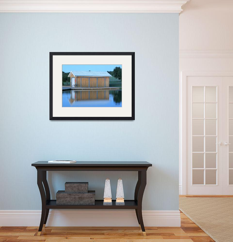"""""""Boathouse&quot  (2011) by WendyJC"""