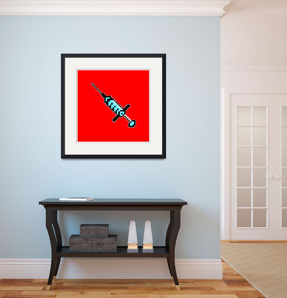 """""""Needle 02: Red&quot  by garmanf"""