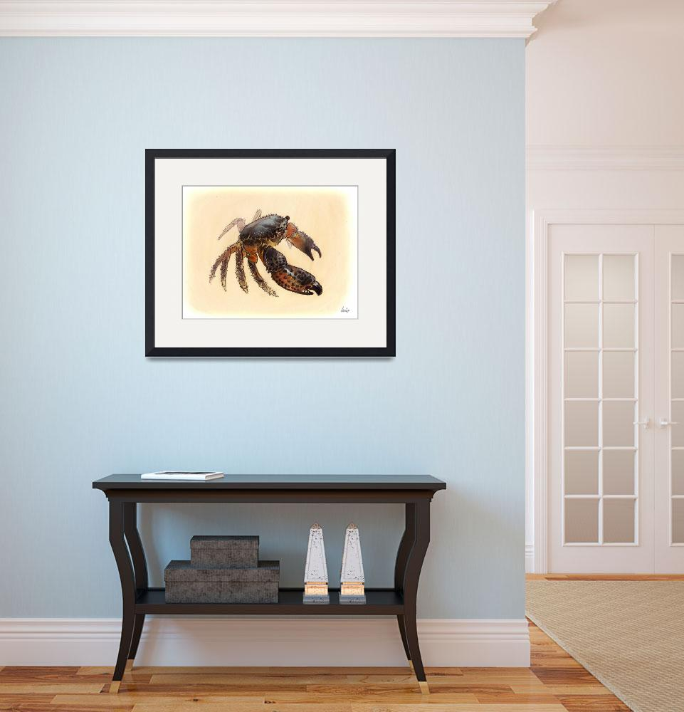 """""""Crab""""  (2009) by LuisNCT"""
