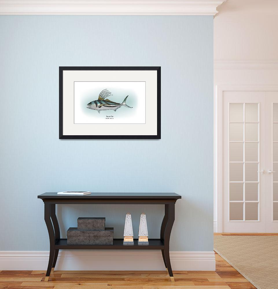 """""""Rooster Fish&quot  by RalphMartens"""