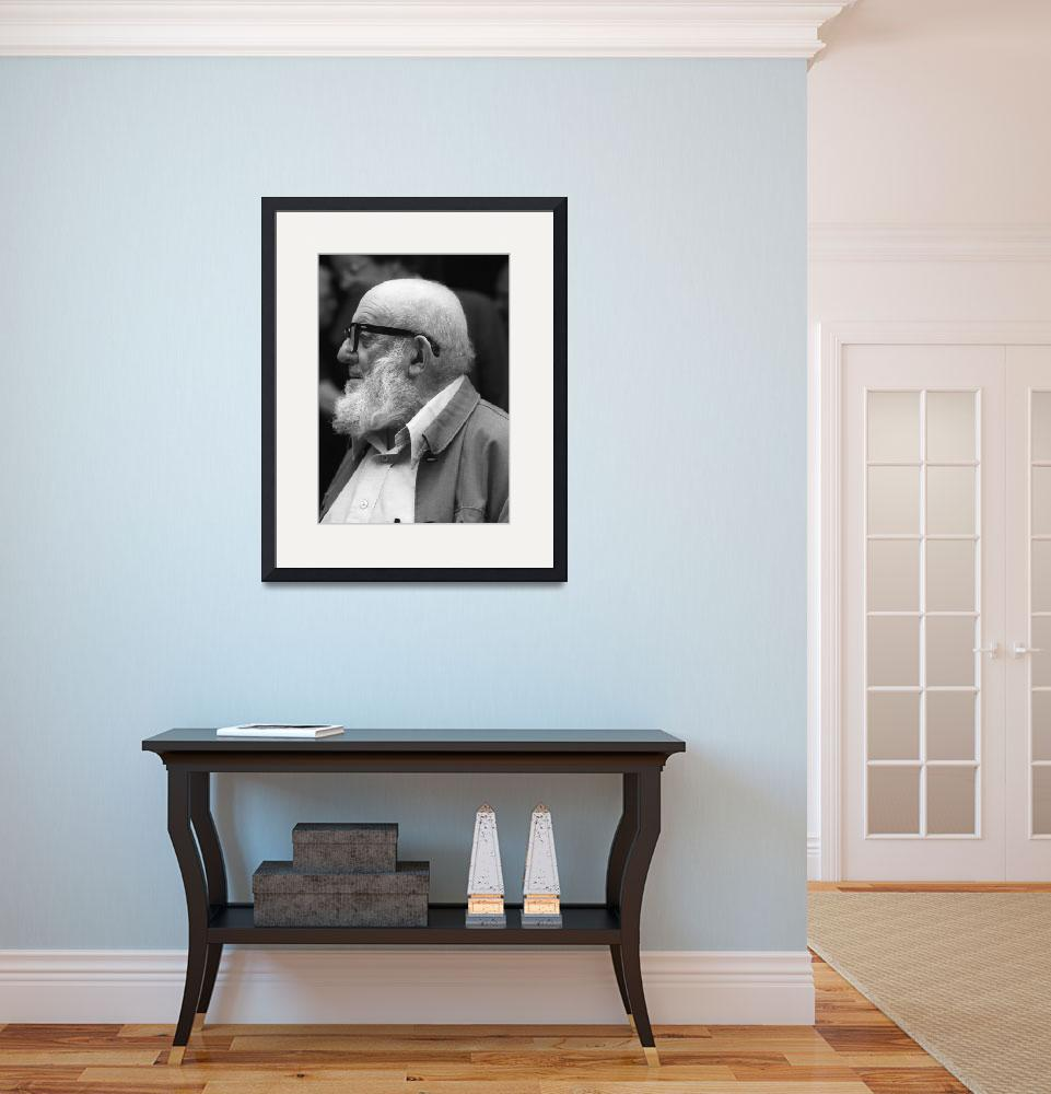 """""""Ansel Adams Portrait&quot  (1982) by SederquistPhotography"""