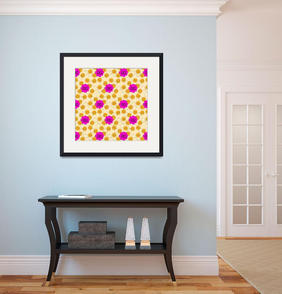 """""""Pink Lotus Blooms&quot  (2012) by MaryDolan"""