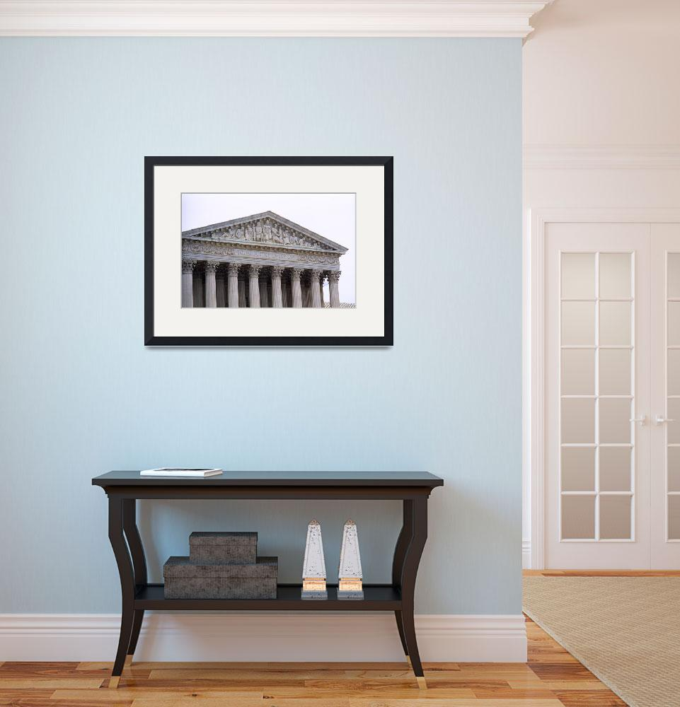 """""""United States Supreme Court Building 5&quot  (2005) by Ffooter"""