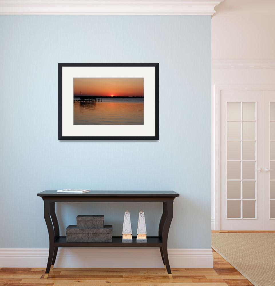 """""""Descending Sunset""""  (2010) by barbee"""