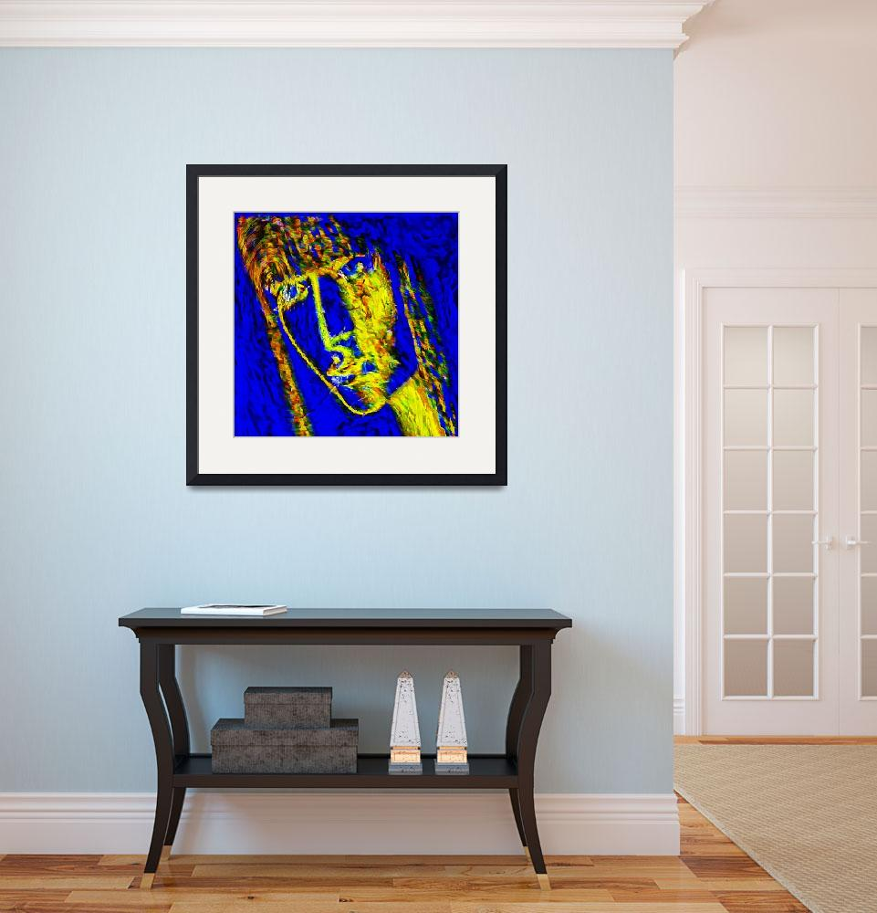 """""""Blue Lady&quot  (2014) by vernoncrumrine"""