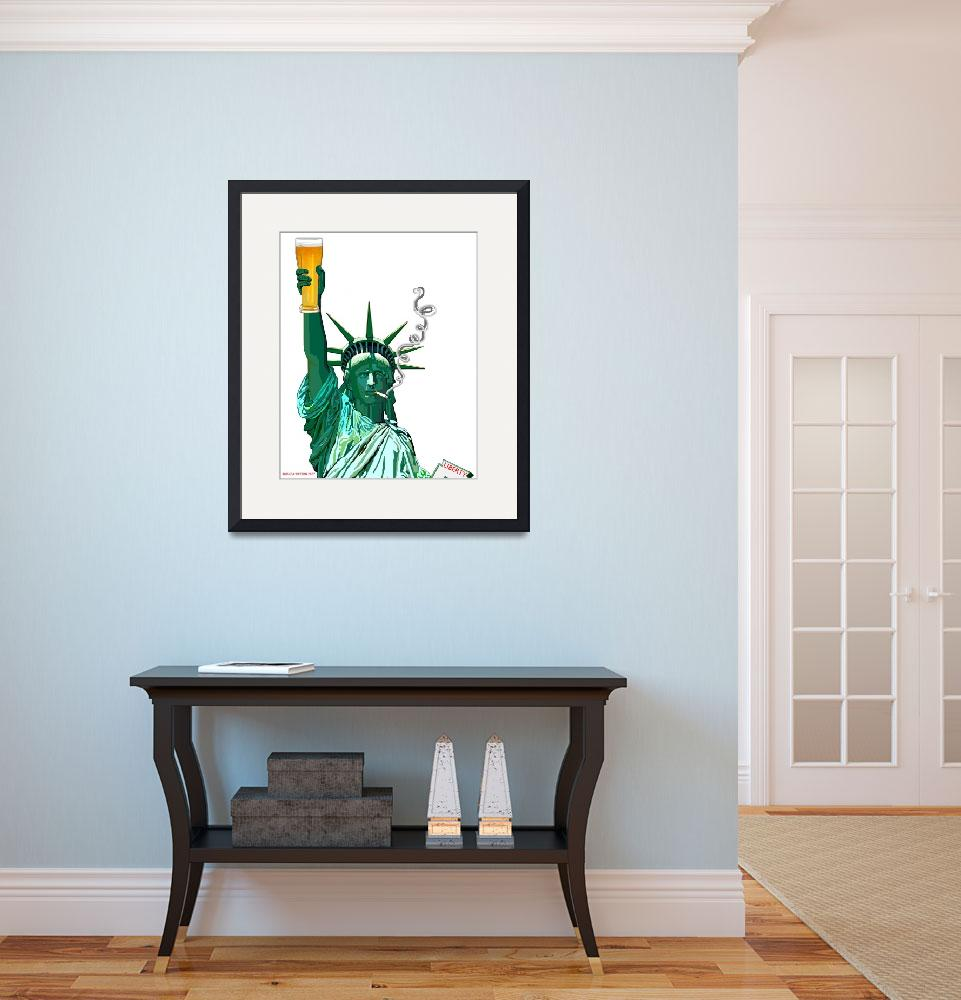"""""""Lady Liberty for all&quot  by rhondawatson"""