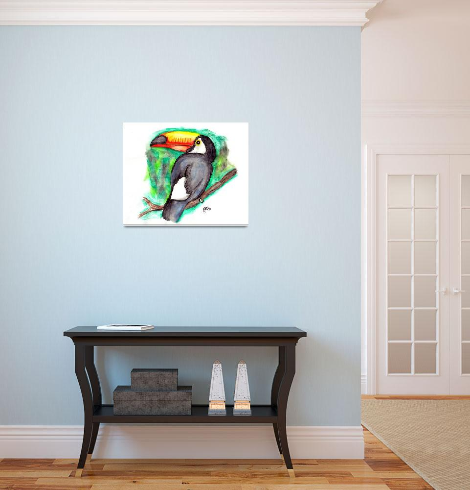 """""""Tucan&quot  (2008) by mago"""