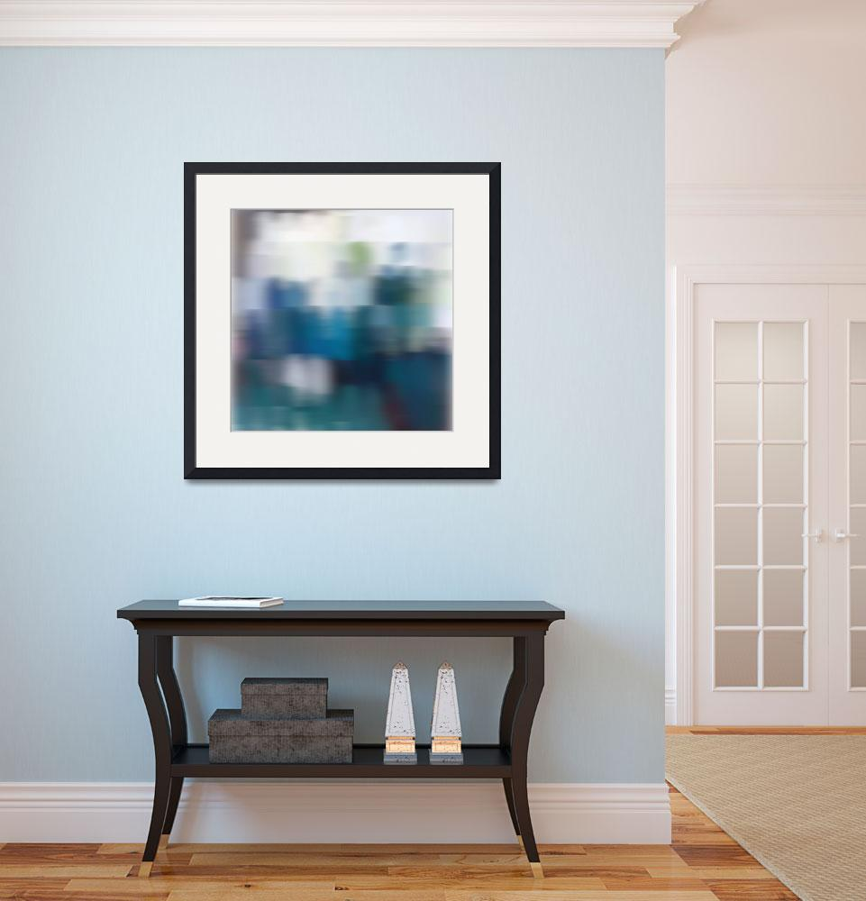 """""""3D Blurred Boundaries - Abstract Expressionism N29&quot  by Aneri"""