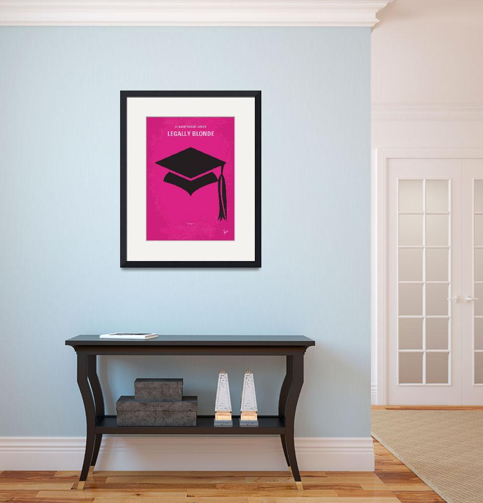 """""""No301 My Legally Blonde minimal movie poster&quot  by Chungkong"""