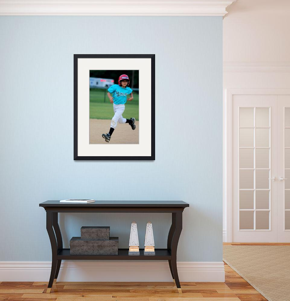 """""""Running the Bases""""  (2009) by rayjacque"""