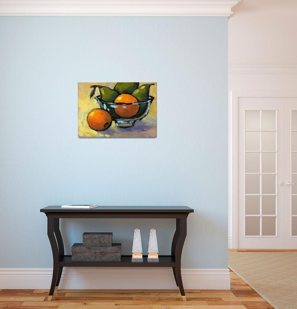 """""""Bowl of Fruit 4""""  (2008) by KonnieKim"""