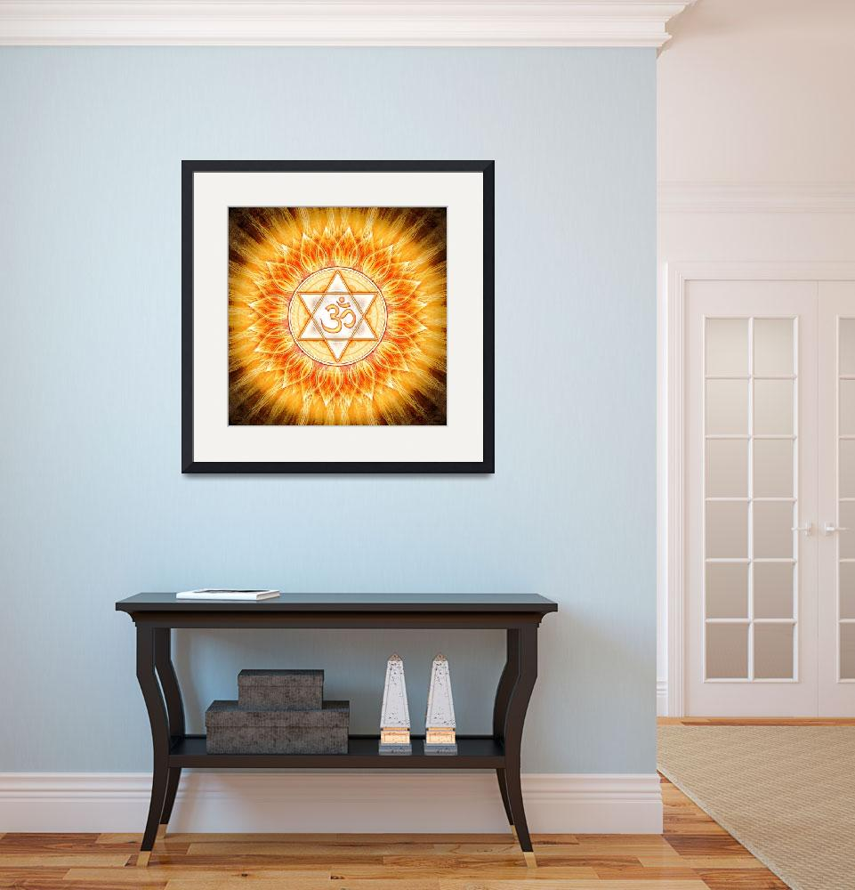 """""""Om - Lotus Sun&quot  by dcz"""