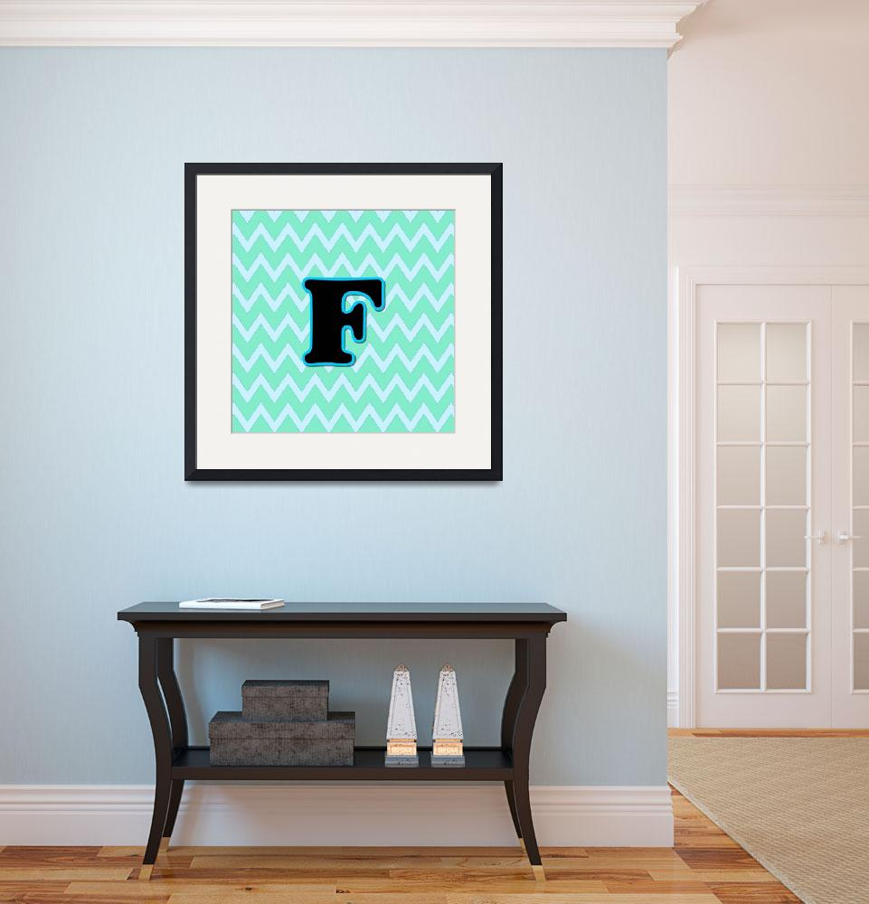 """""""Letter F&quot  (2015) by paintingsbygretzky"""
