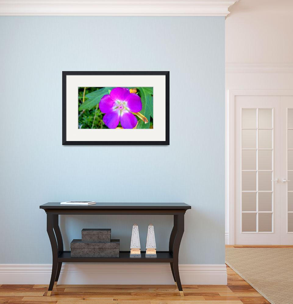 """purple flower expressive2""  by lizmix"