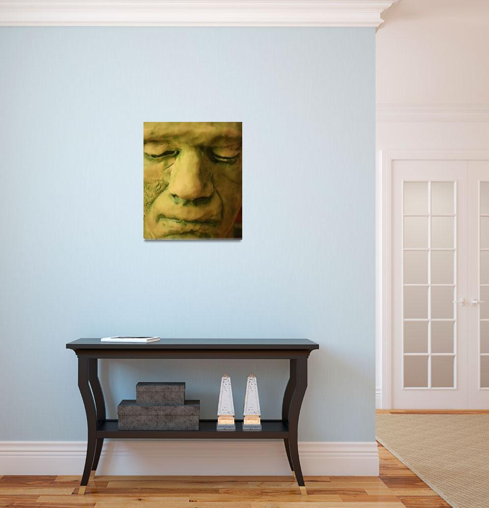 """Frankenstein Mask&quot  (2009) by HisRuin"
