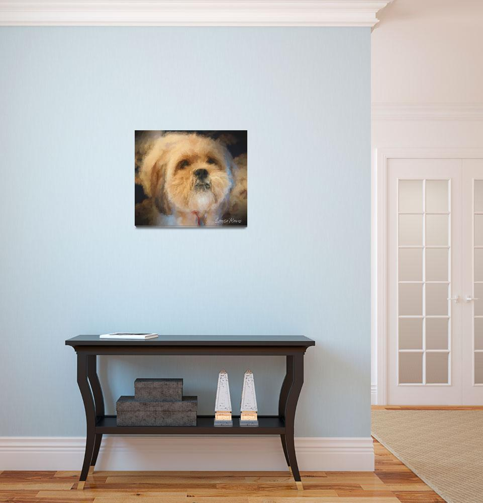 """Lhasa Apso""  (2015) by LouiseReeves"