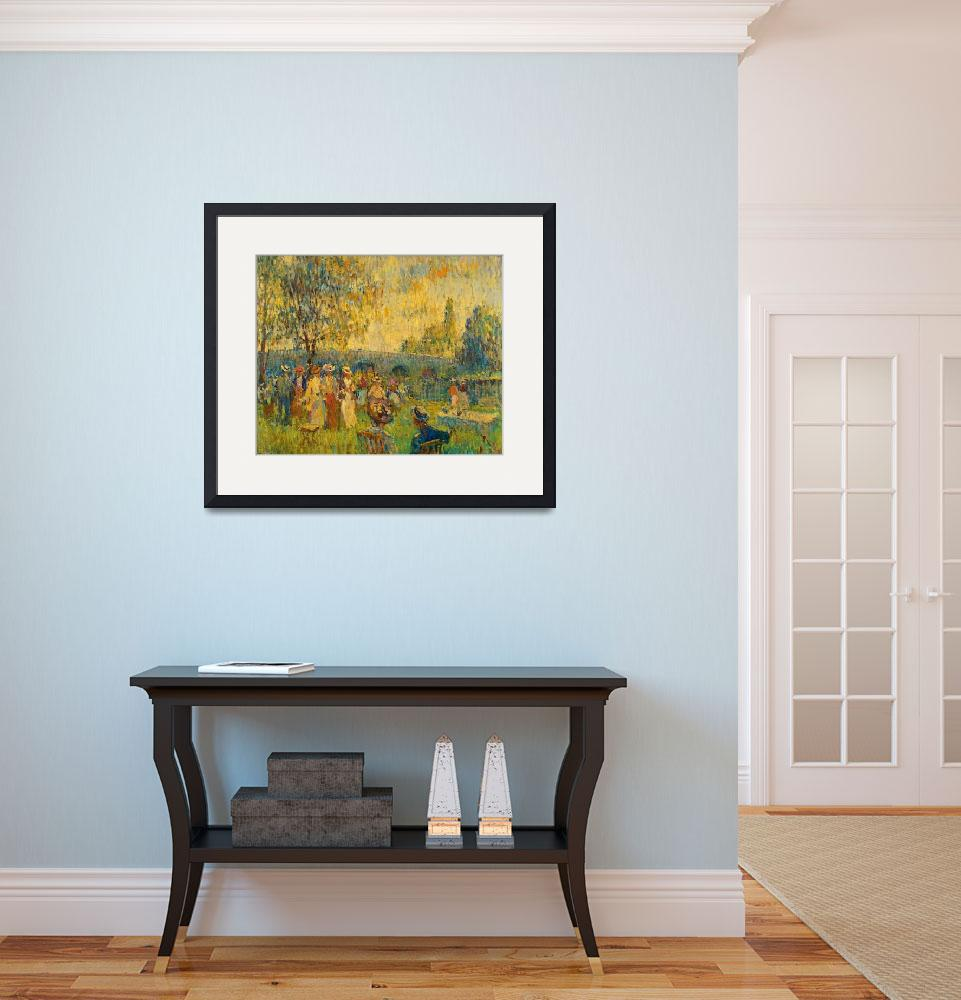 """William Samuel Horton Art Framed Print""  by buddakats1"