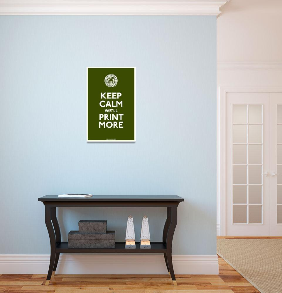 """""""Federal Reserve Poster""""  (2011) by libertymaniacs"""