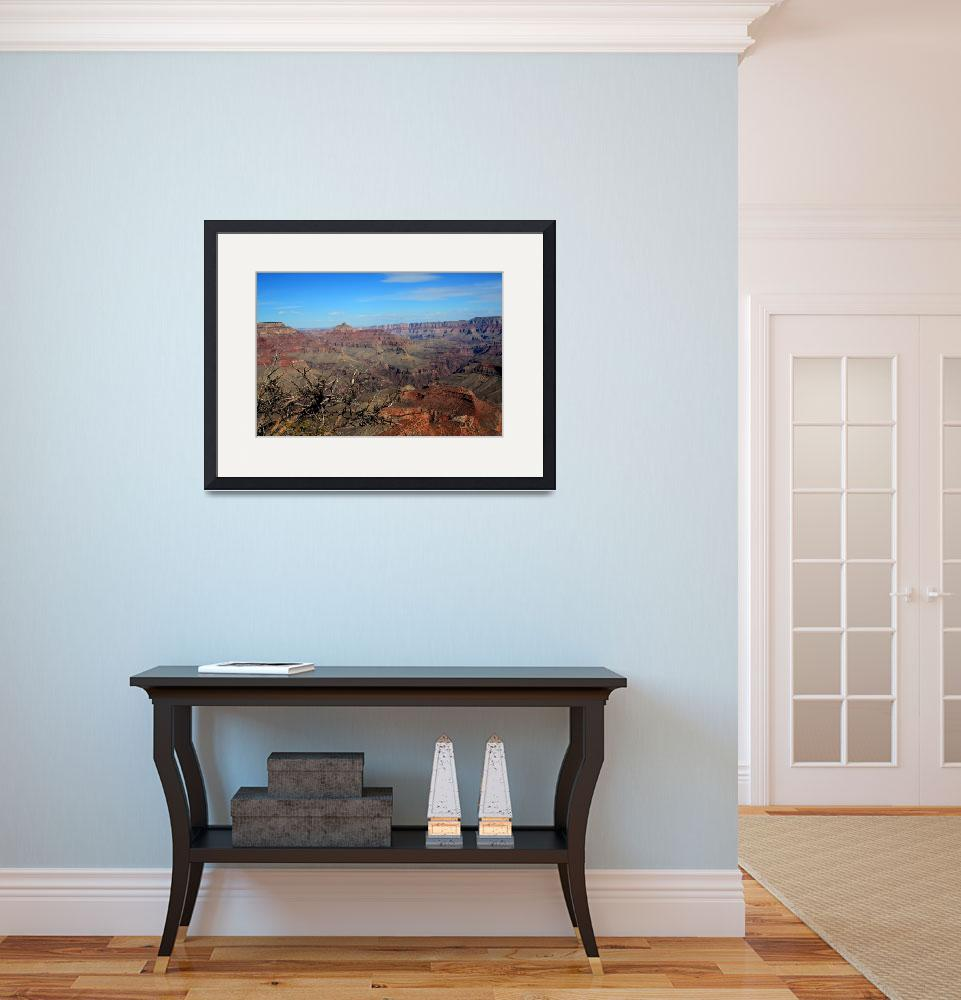 """""""First Look of the South Rim&quot  (2009) by rayjacque"""