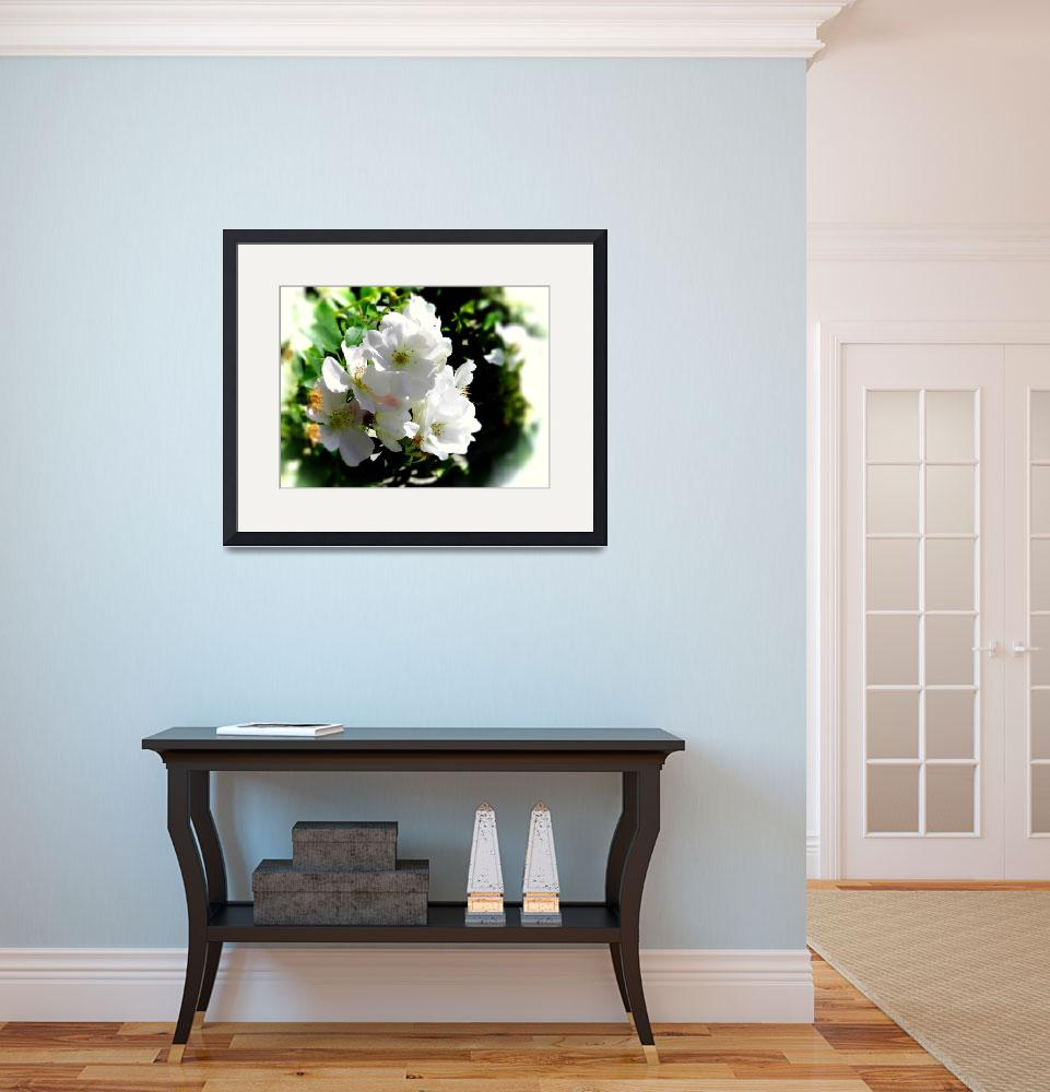 """""""white blossom pastel&quot  by lizmix"""