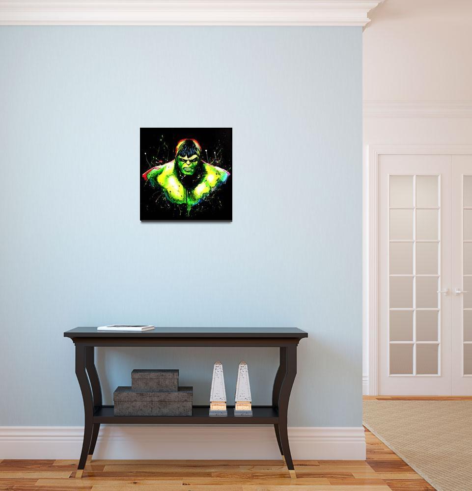 """""""Hulk Unleashed""""  (2016) by Krenken"""