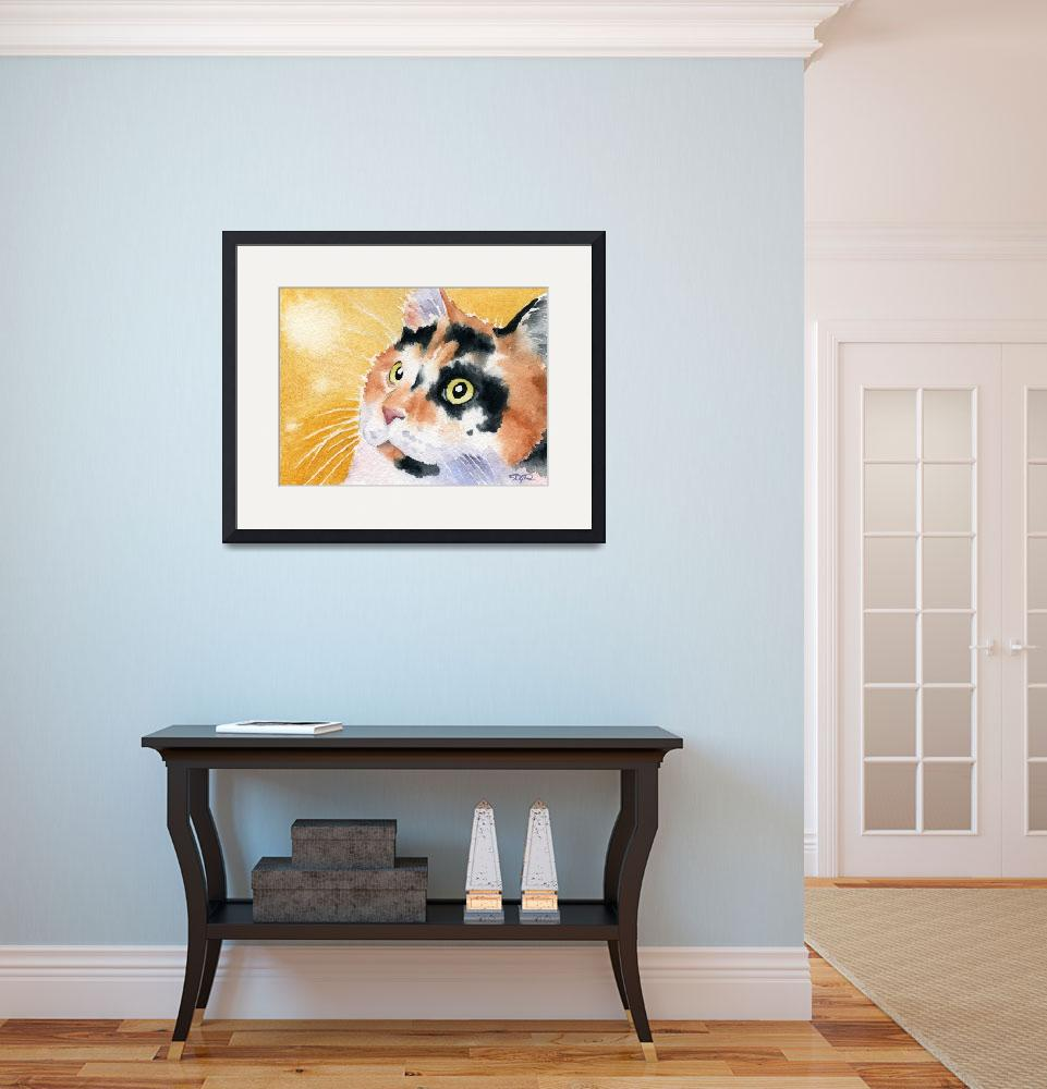 """""""Calico Cat&quot  (2015) by k9artgallery"""