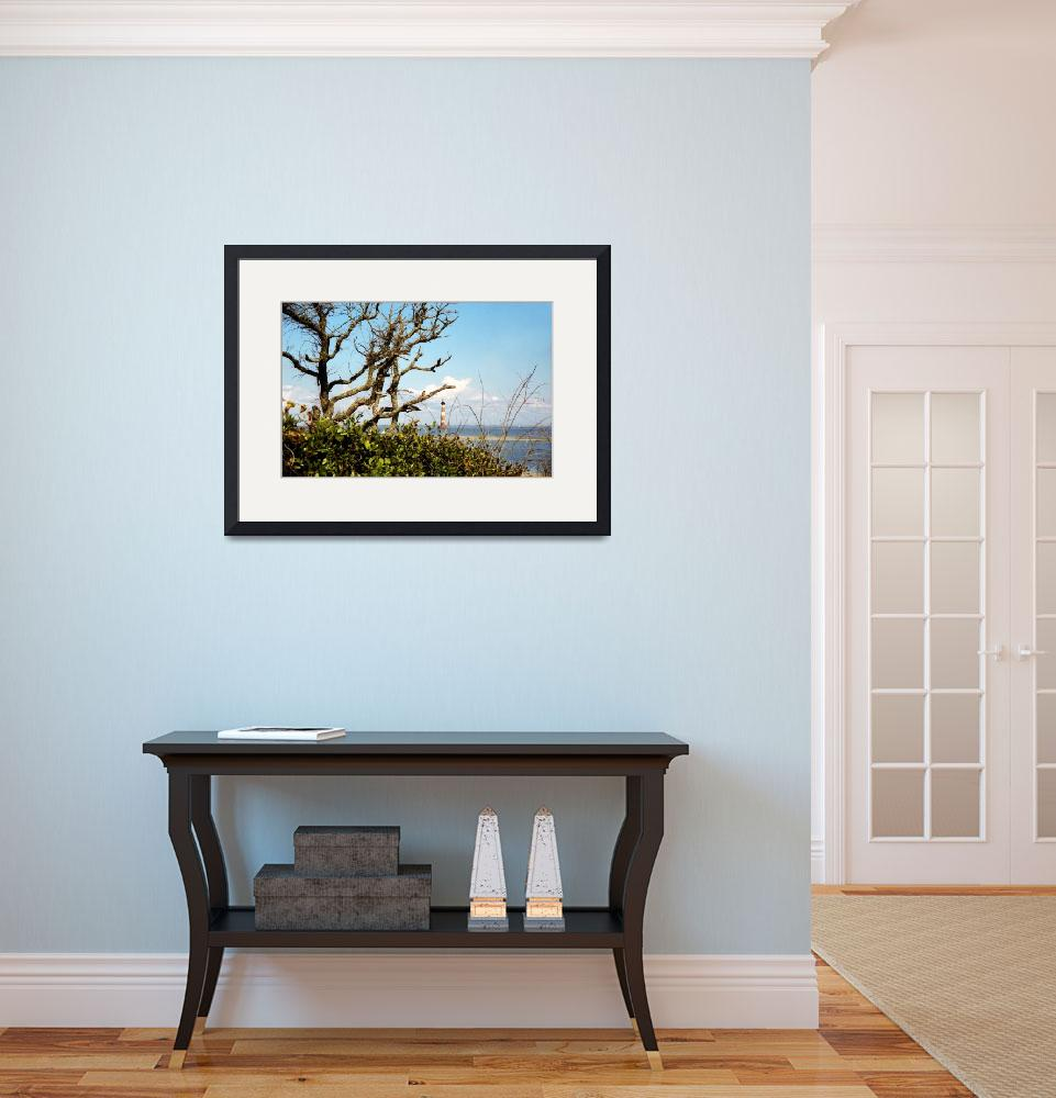 """""""Morris Island Lighthouse&quot  (2004) by PadgettGallery"""