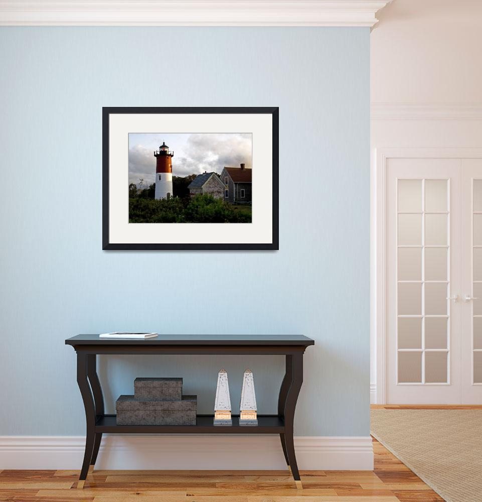 """Nauset Lighthouse - Eastham, Cape Cod&quot  (2009) by ChrisSeufert"