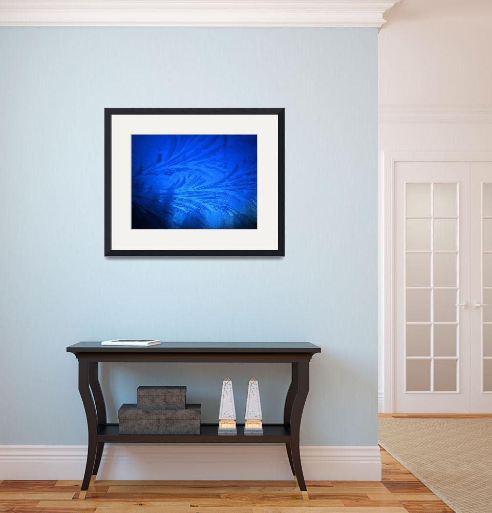 """""""Cold blue""""  (2009) by codfather"""