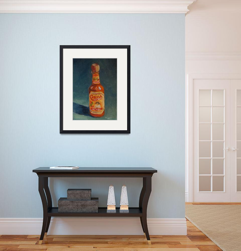 """""""Cholula Hot Sauce&quot  (2008) by maryanncleary"""