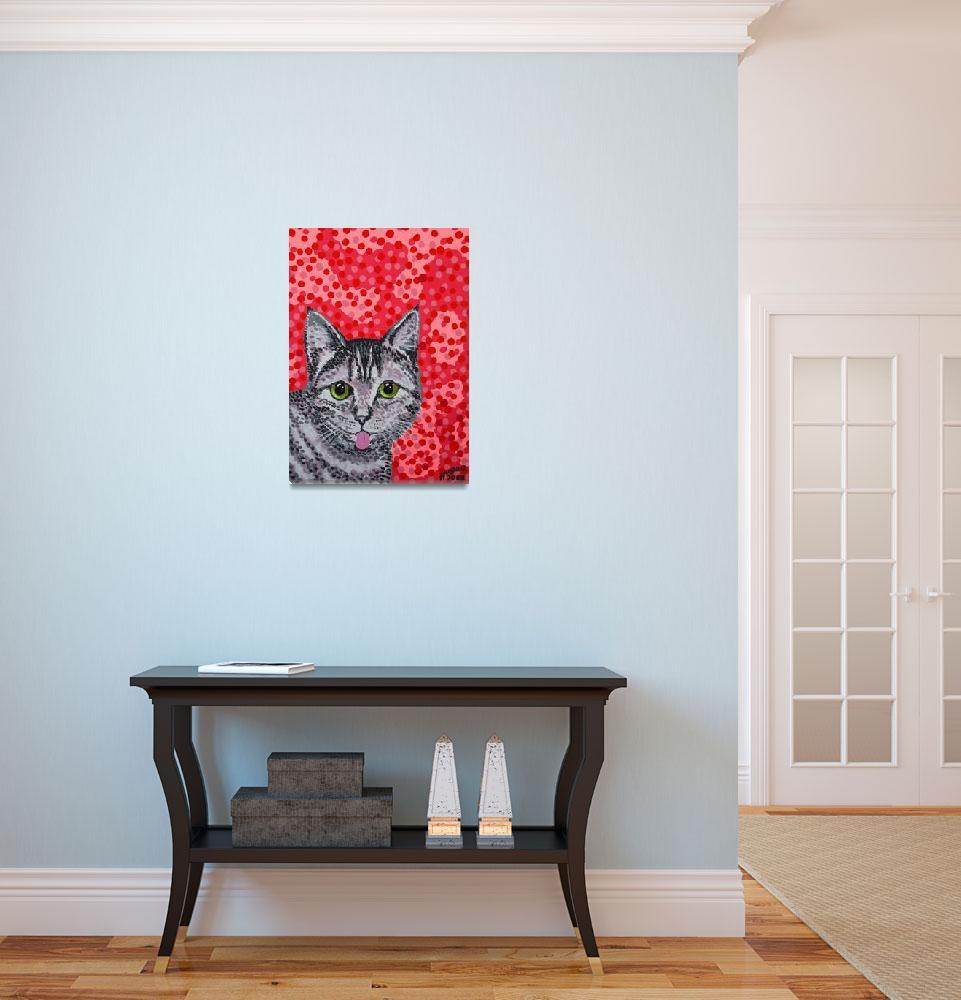 """Finnish Cat""  (2008) by alanhogan"