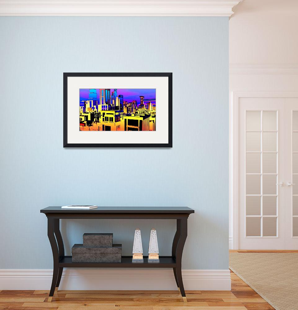 """""""Bold City""""  (2015) by Chicagoartist1"""